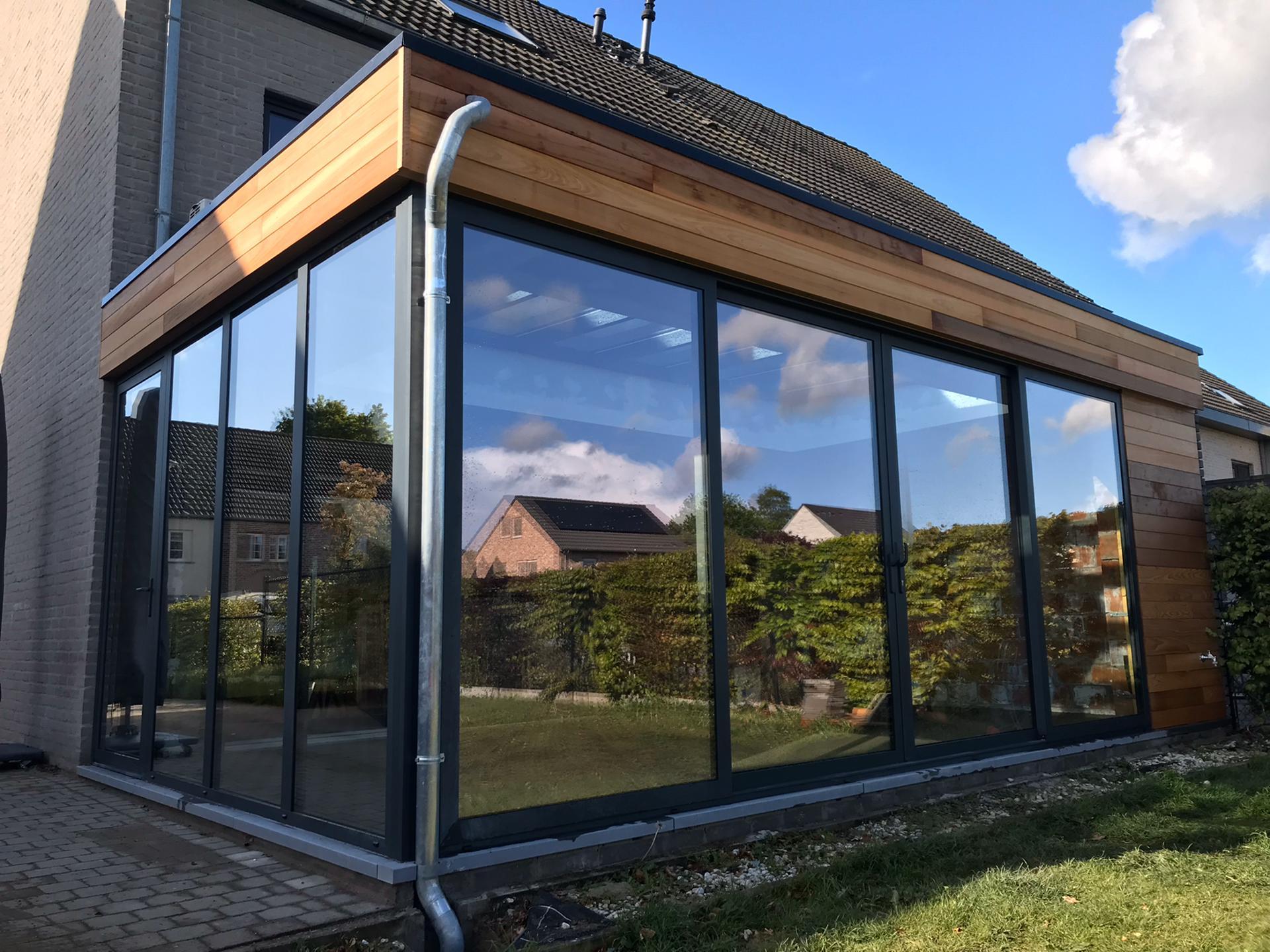 verandabouw plat dak