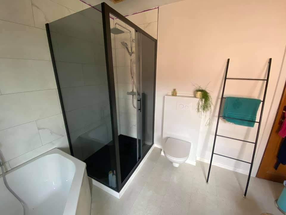 badkamerrenovatie badkamer