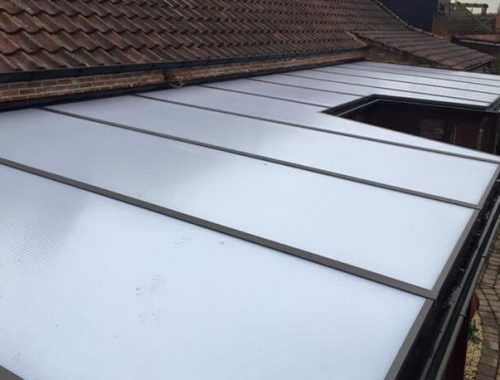 Veranda renovatie dak